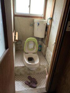 京都府訳あり物件の和様式トイレ